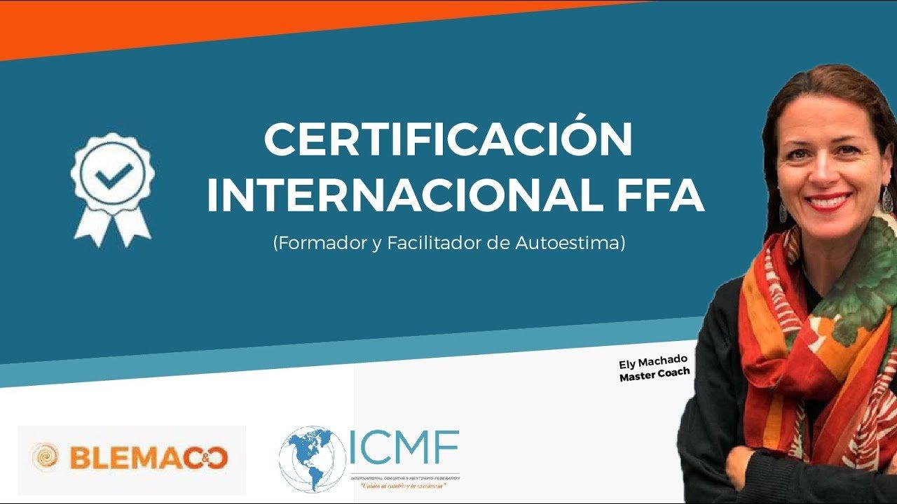 certificación internacional FFA